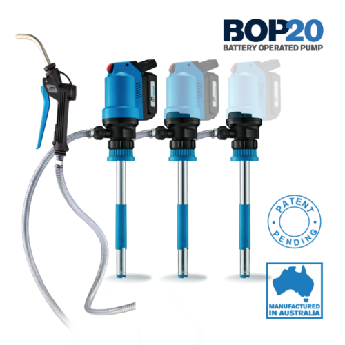 BOP20 Battery Operated Oil Pump