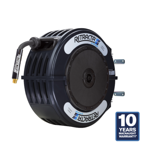 Retracta R3-S Standard Black Oil Hose Reel 1/2 in x 50 ft