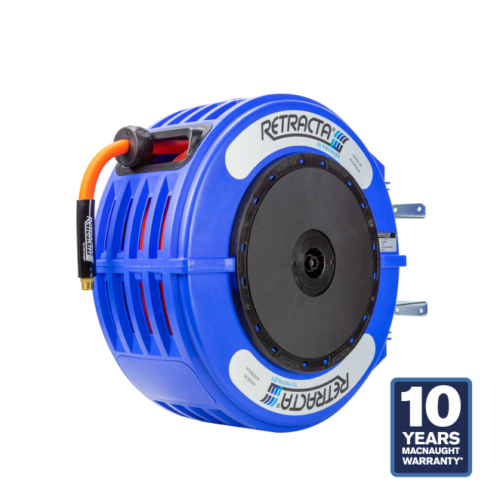 Retracta R3-S Standard Blue Hose Reel Air / Water 3/8 in x 65 ft PN# RY365B-02