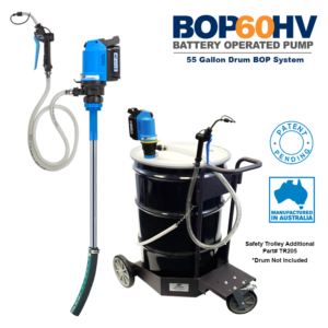 BOP60HV Battery Operated Pump for 55 Gallon