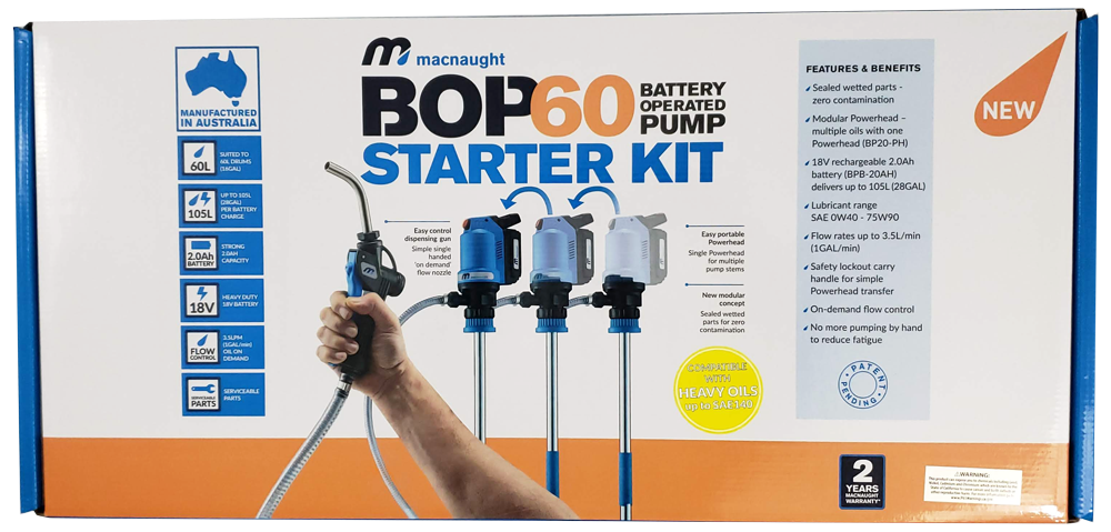 BOP60HV Starter Kit Package