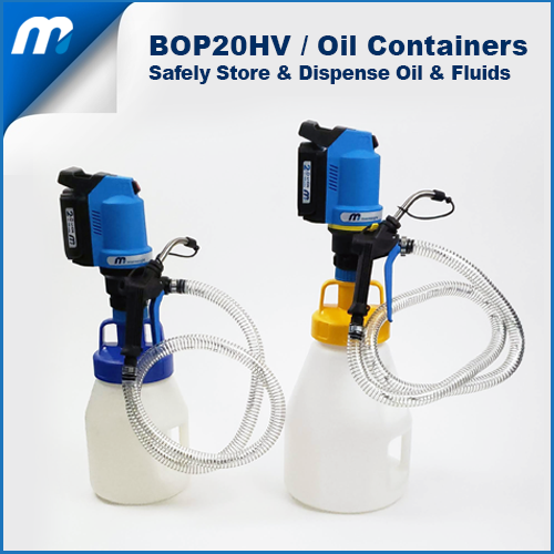 BOP20HV Oil Containers